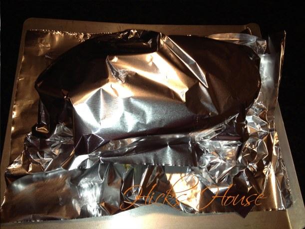 wrap in foil