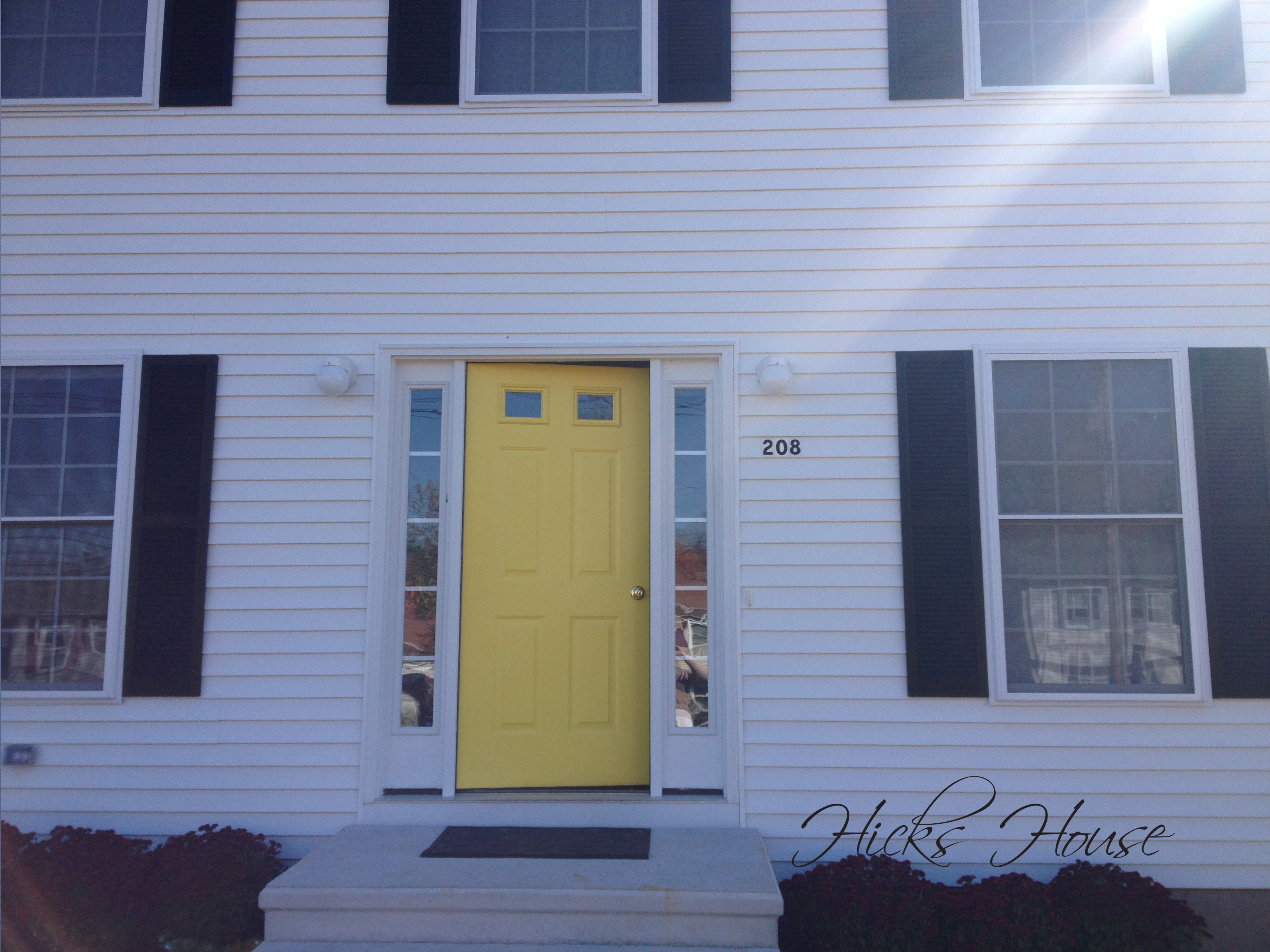 House Painting Designs And Colors Front Door Hicks House