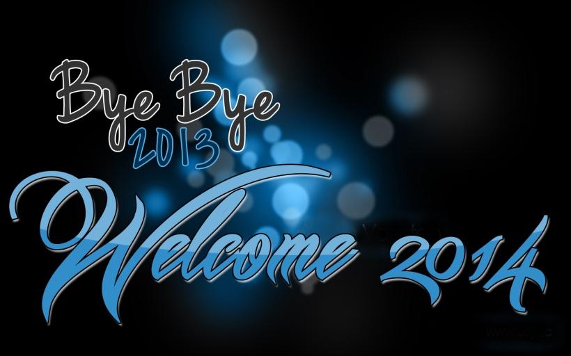 Bye Bye 2013 Welcome 2014