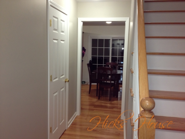 hallway painted 1