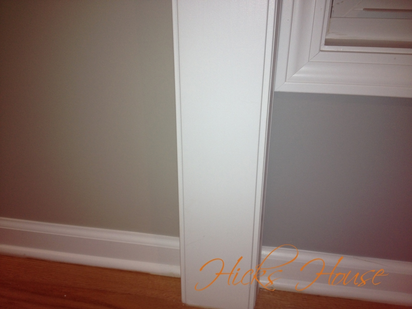 hallway painted 8