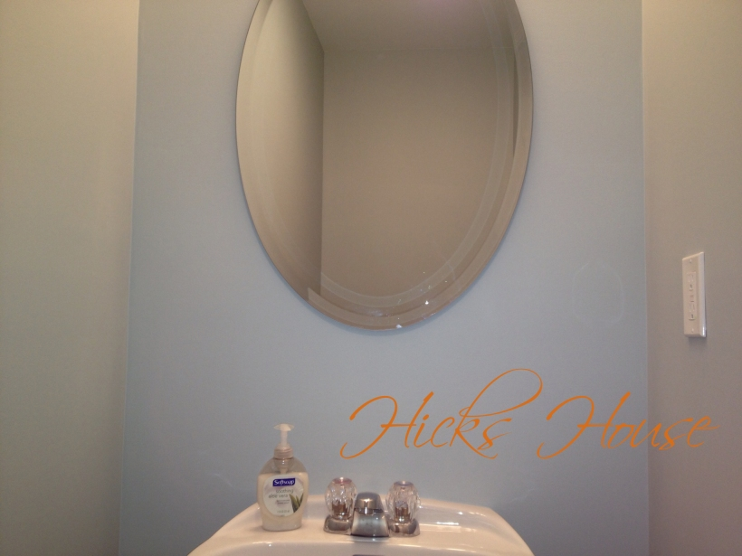 Hicks House | Half Bath | Woodlawn Blue