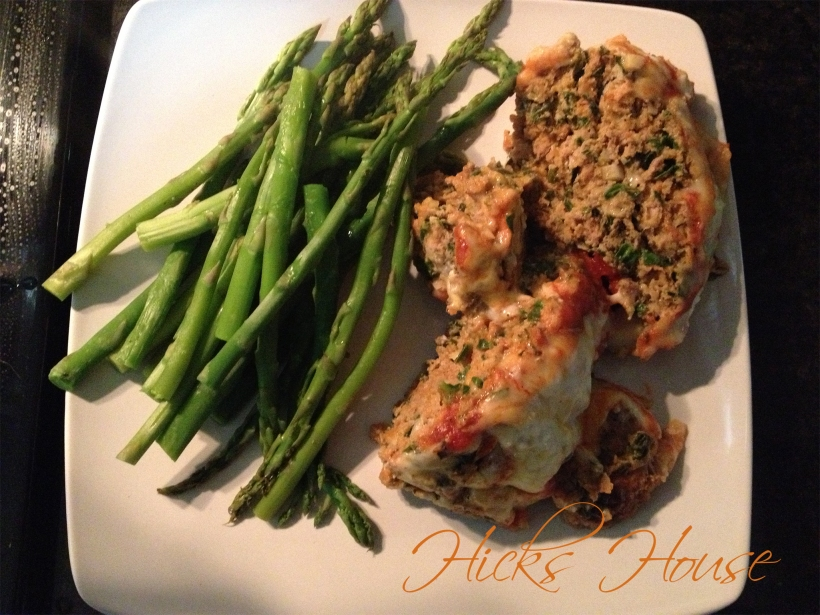 Hicks House | Loaded Turkey Meatloaf