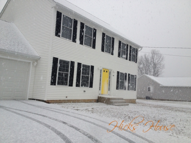 Hicks House | April Snow