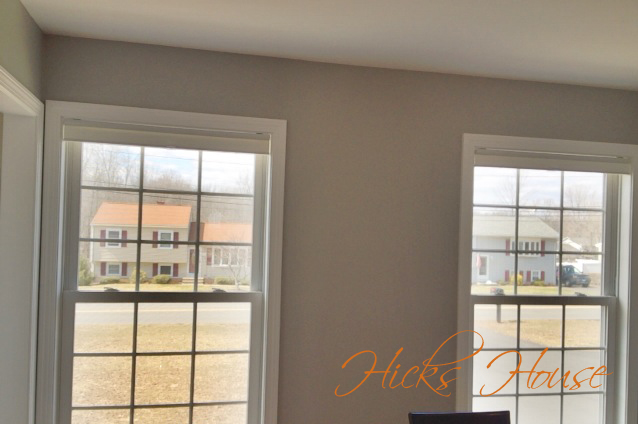Hicks House | Dining Room Curtians