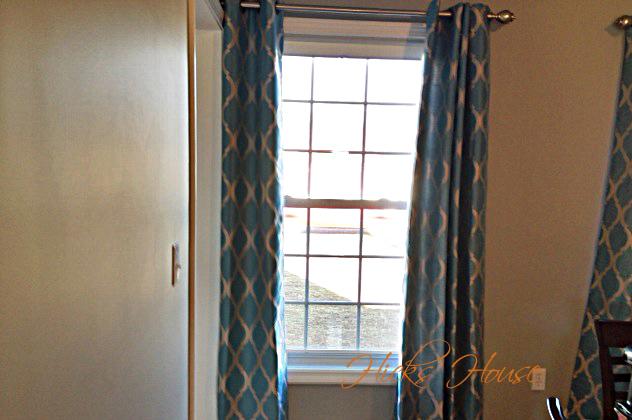 Curtain Wall Shims : Hicks house dining room curtains