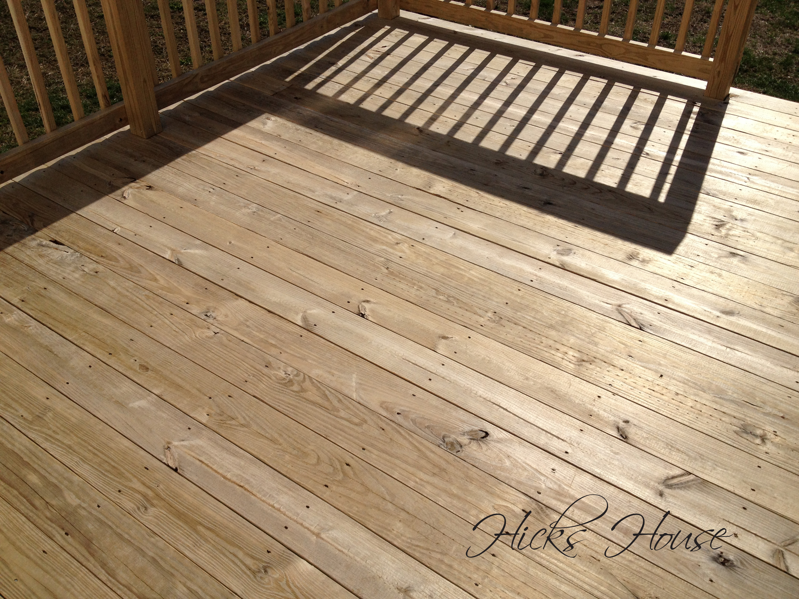 Defy Deck Stain Hicks House