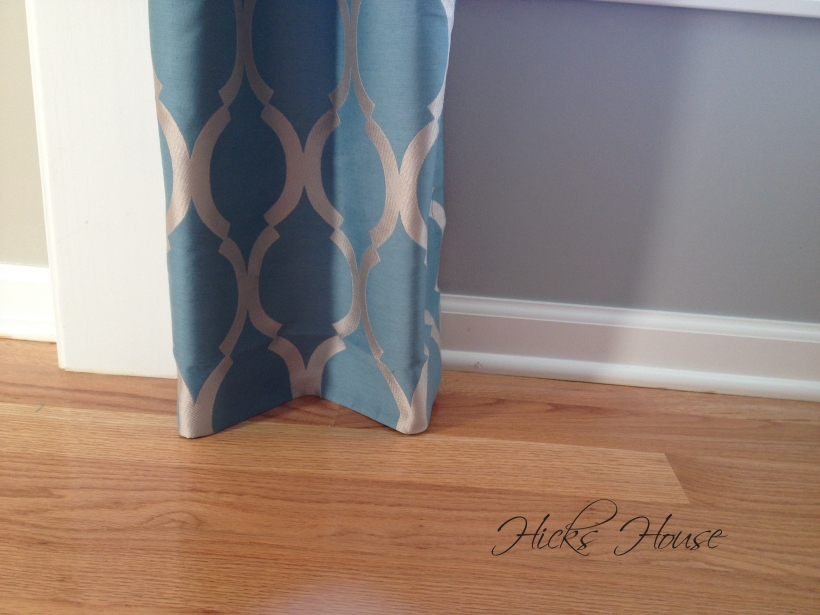 Lengthening Curtains | Hicks House