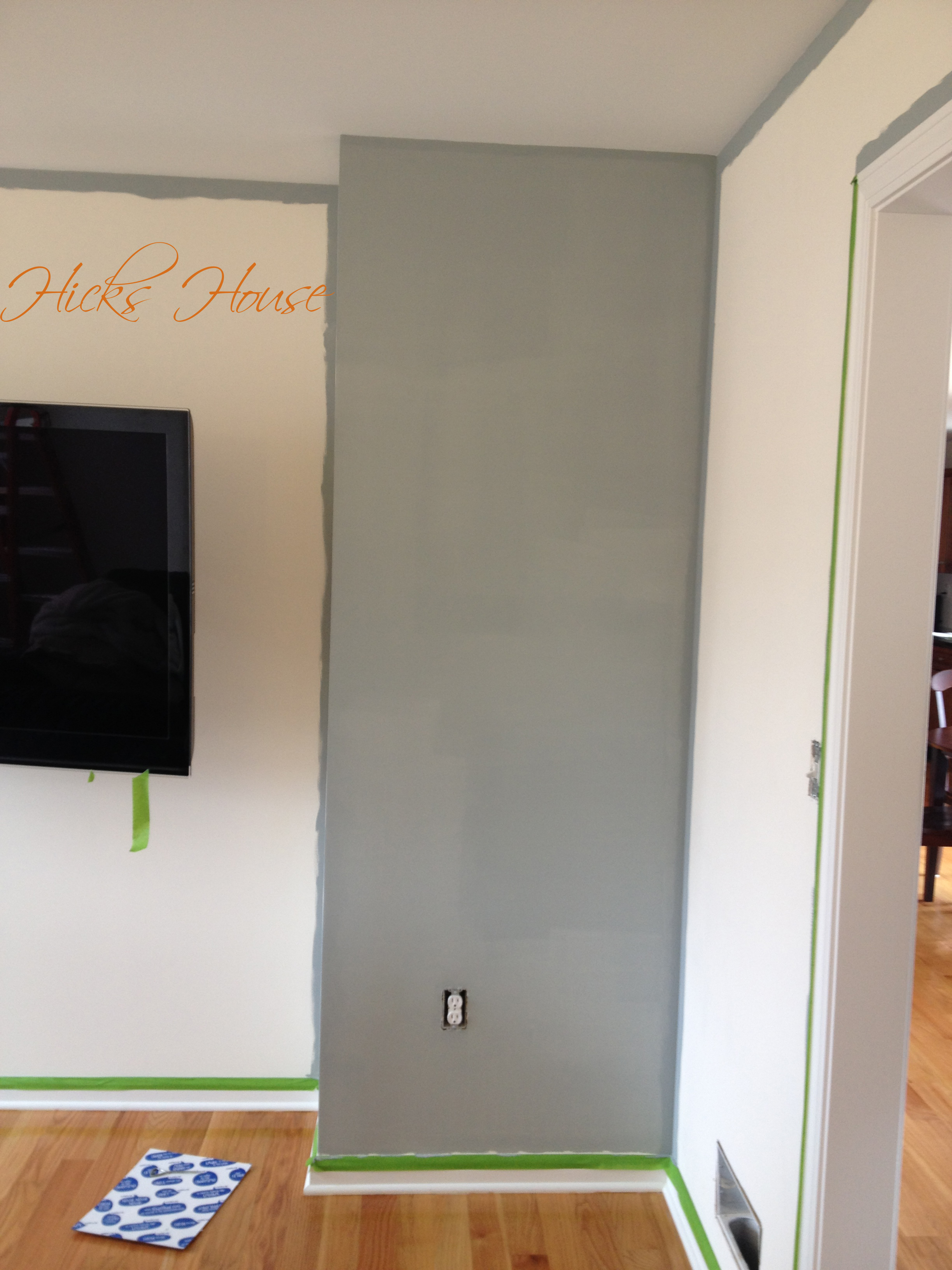 Tv Room Hicks House