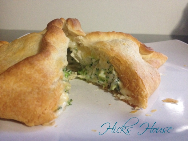 Chicken Broccoli and Cheese Pocket | Hicks House