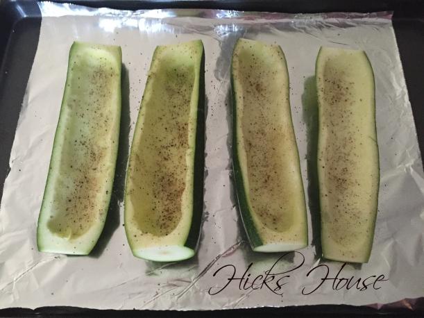 Stuffed Zucchini Boats | Hicks House