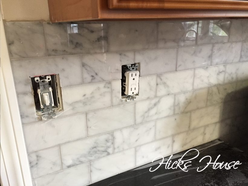 Marble Backsplash | Hicks House