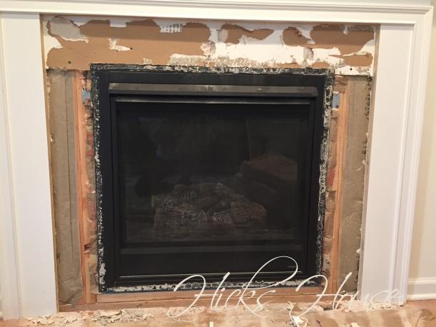 Fireplace Re-Do | Hicks House