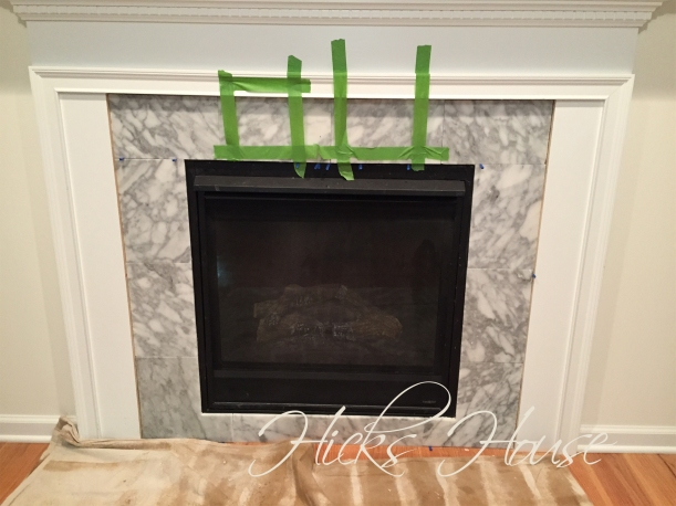 Fireplace Re-Do | Hicks House