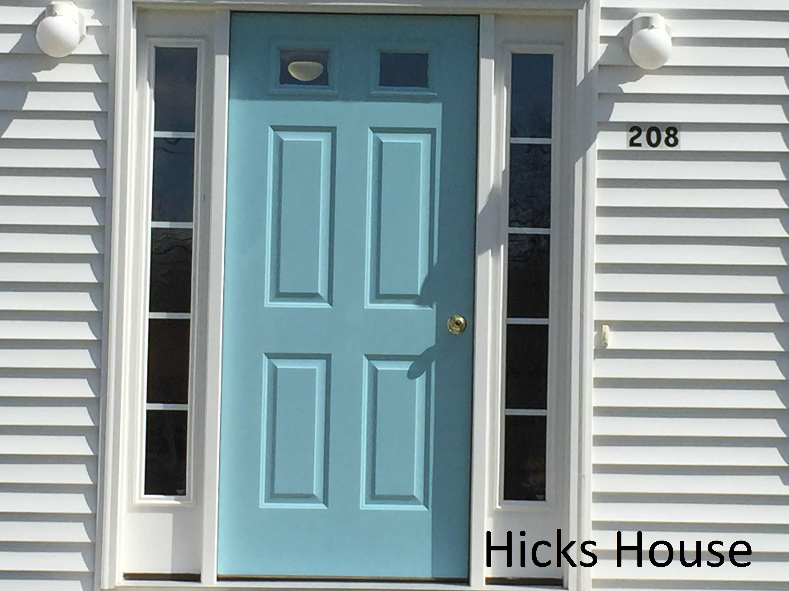 Hicks House | Blue Door