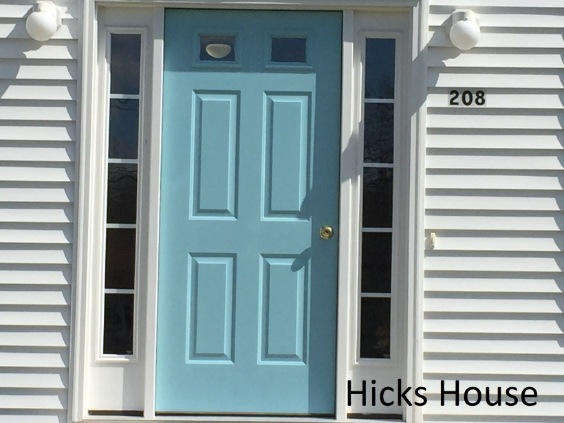 Hicks House | Blue Door