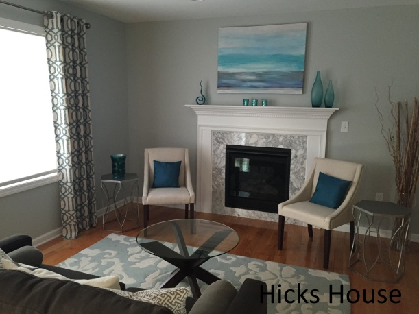 Benjamin Moore Arctic Gray Hicks House